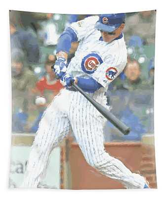 Chicago Cubs Anthony Rizzo Tapestry