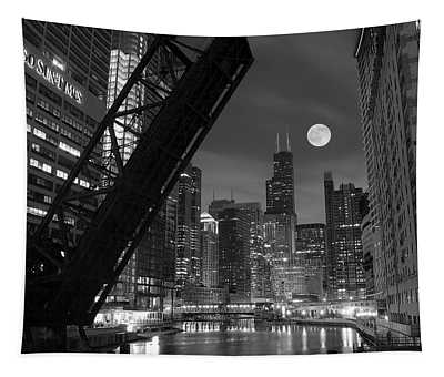 Chicago Pride Of Illinois Tapestry