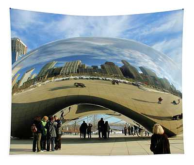 Chicago Reflected Tapestry