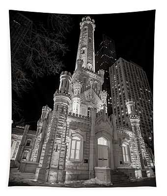 Chicago Water Tower Tapestry