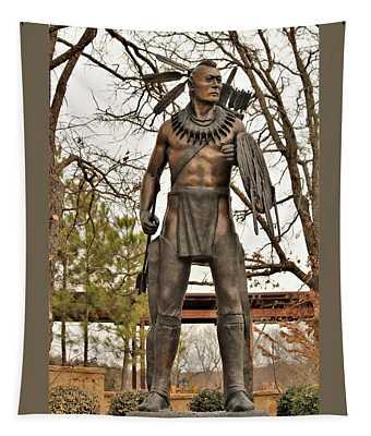 Chickasaw Warrior Tapestry
