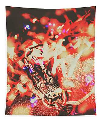 Chinese Dragon Celebration Tapestry