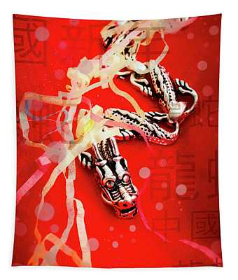 Chinese New Year Background Tapestry