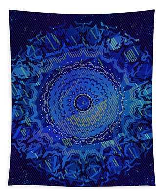 Tapestry featuring the digital art Chlorine Summer Night Sky by Joy McKenzie