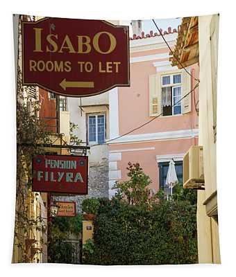 Choose Your Stay In Nafplion Tapestry