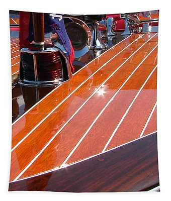 Chris Craft Bow Tapestry