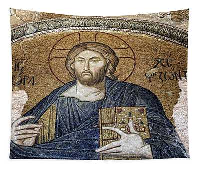 Christ Pantocrator -- Chora Tapestry