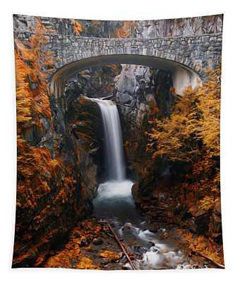 Christine Falls - Digital Oil Tapestry