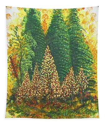 Christmas Is Coming Tapestry