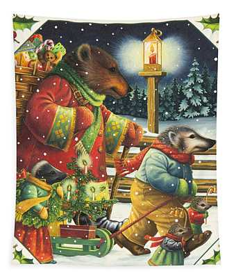 Christmas Journey Tapestry
