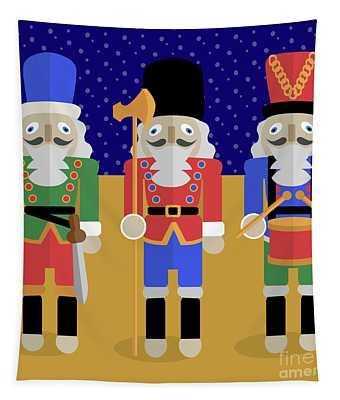 Christmas Nutcrackers  Tapestry