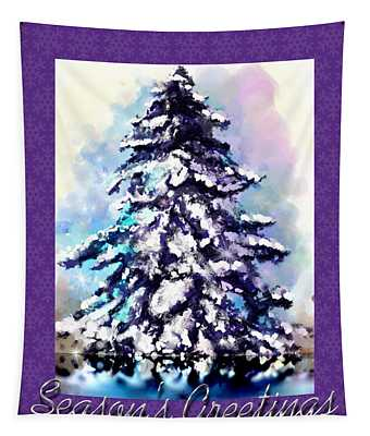 Christmas Tree Tapestry