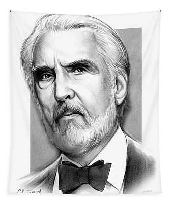 Christopher Lee Tapestry