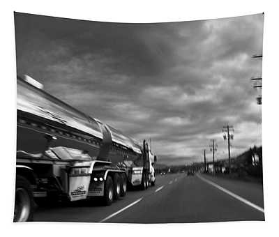 Chrome Tanker Tapestry