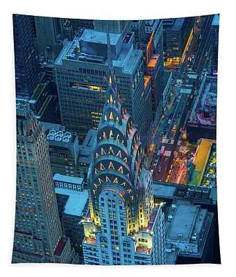 Chrysler Building Tapestry