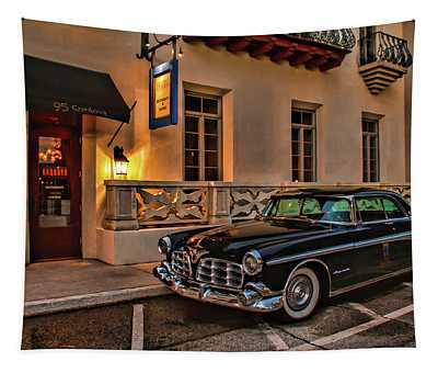 Chrysler Imperial Casa Monica Hotel Tapestry