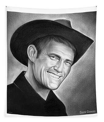 Chuck Connors Tapestry