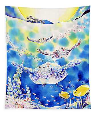 Churaumi Night Tapestry