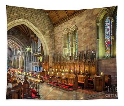 Church Organist Tapestry