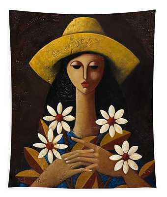 Cinco Margaritas Tapestry