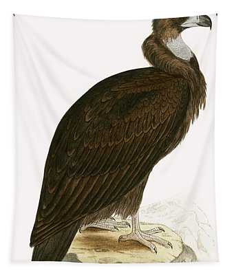 Cinereous Vulture Tapestry