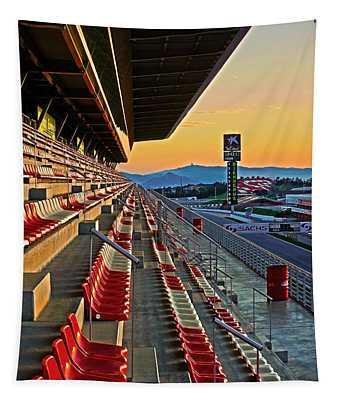 Circuit De Catalunya - Barcelona  Tapestry