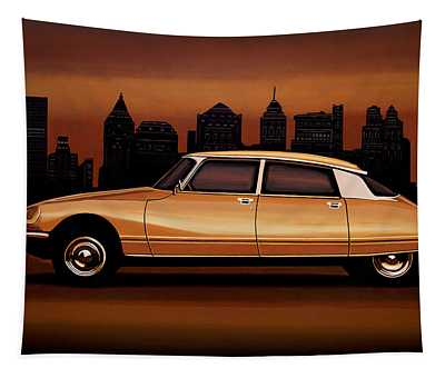 Citroen Ds 1955 Painting Tapestry