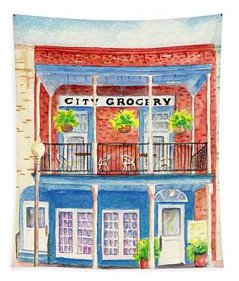 City Grocery Oxford Mississippi  Tapestry