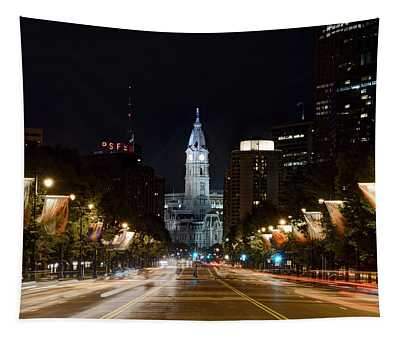 City Hall From The Parkway Tapestry