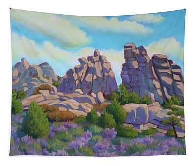 City Of Rocks Tapestry