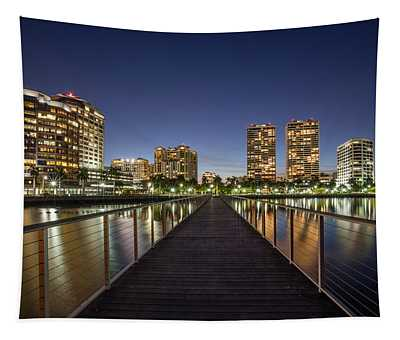 City Skyline Tapestry
