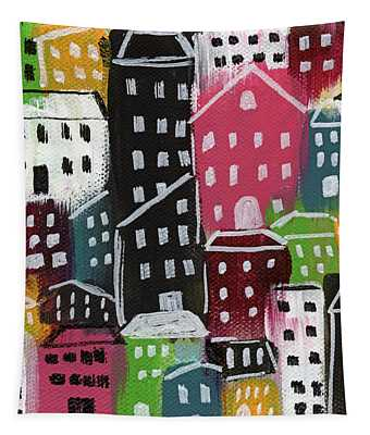 City Stories- Colorful Tapestry