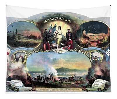 Civil War 14th Regiment Memorial Tapestry