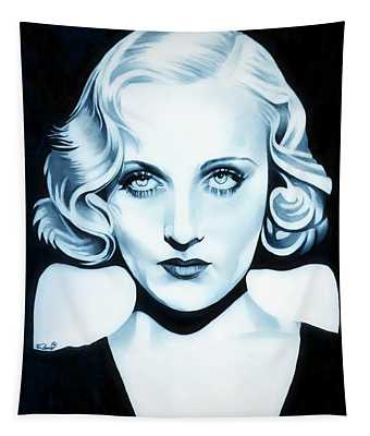 Classic Carole Lombard Tapestry