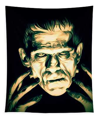 Classic Frankenstein Tapestry