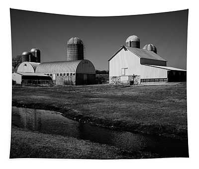 Classic Wisconsin Farm Tapestry