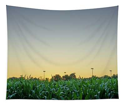 Clear Skies Sunset Tapestry