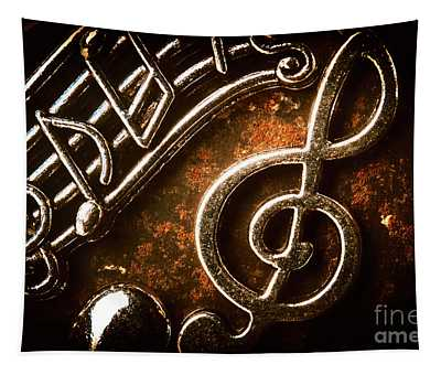 Clef Concert Tapestry