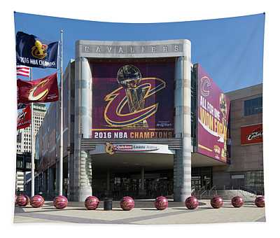 Cleveland Cavaliers The Q Tapestry