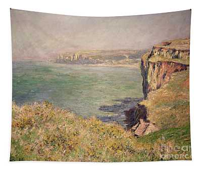Cliff At Varengeville Tapestry