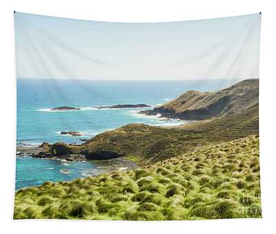 Cliffs And Capes Tapestry