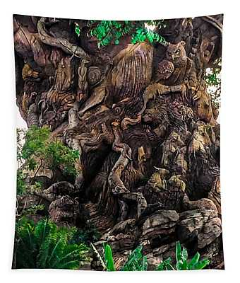 Tapestry featuring the photograph Closeup Of Tree Of Life by Gary Keesler