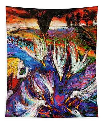 Cloud Street - Geraldton Seagulls Tapestry