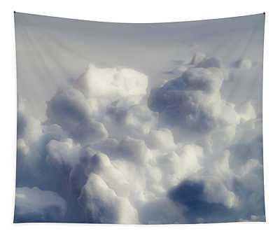 Clouds Of Snow Tapestry