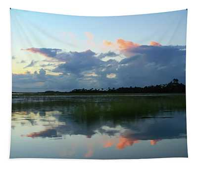 Clouds Over Marsh Tapestry
