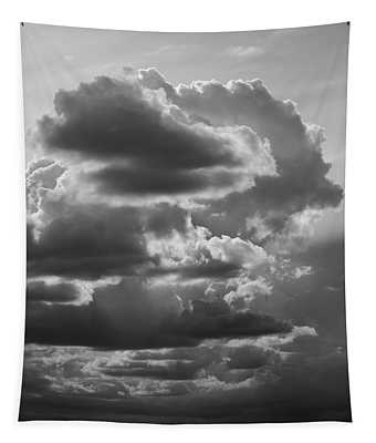 Cloudscape Xv Bw Sq Tapestry