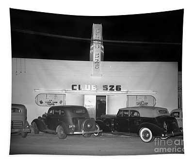 Club 526  Henry Franci, Salinas 1941 Tapestry