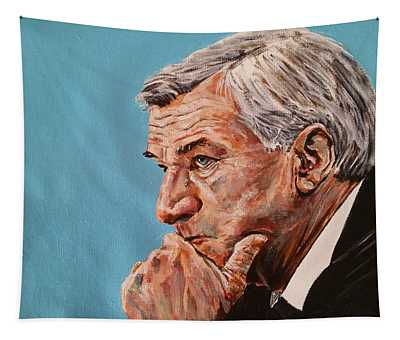 Coach Dean Smith Tapestry