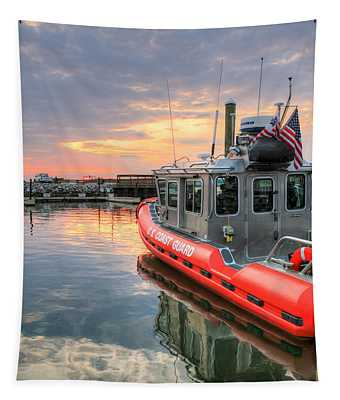 Coast Guard Anacostia Bolling Tapestry by JC Findley