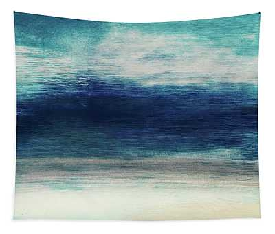 Coastal Escape 2- Art By Linda Woods Tapestry